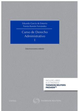 CURSO DE DERECHO ADMINISTRATIVO, I