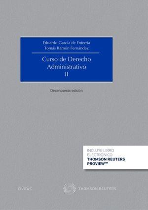 CURSO DE DERECHO ADMINISTRATIVO, II