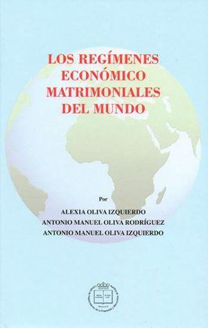 LOS REGIMENES ECONOMICO MATRIMONIALES DEL MUNDO
