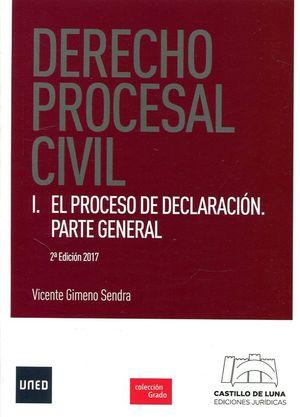DERECHO PROCESAL CIVIL, I