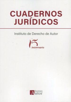 CUADERNOS JURIDICOS DEL INSTITUTO DE DERECHO DE AUTOR