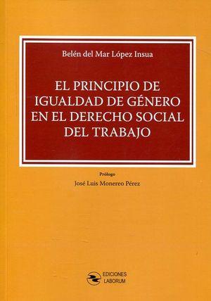 EL PRINCIPIO DE IGUALDAD DE GENERO EN EL DERECHO SOCIAL DEL