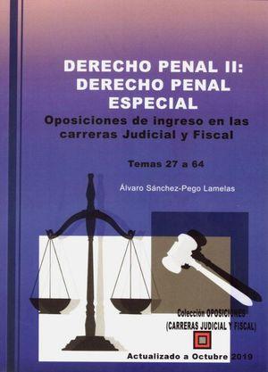 DERECHO PENAL II: DERECHO PENAL ESPECIAL (3 VOLS.)