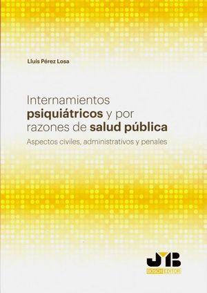 INTERNAMIENTOS PSIQUIÁTRICOS Y POR RAZONES DE SALUD PÚBLICA