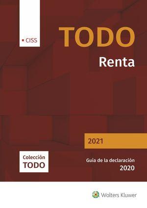 TODO RENTA 2021. GUÍA DE LA DECLARACIÓN 2020