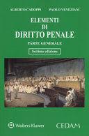 ELEMENTI DI DIRITTO PENALE. PARTE GENERALE