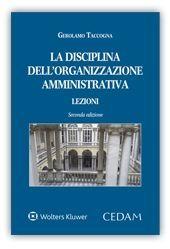 DISCIPLINA DELL'ORGANIZZAZIONE AMMINISTRATIVA