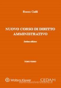 NUOVO CORSO DI DIRITTO AMMINISTRATIVO (2 VLS.)
