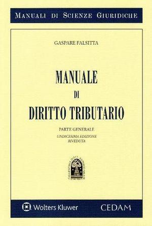 MANUALE DIRITTO TRIBUTARIO. PARTE GENERALE