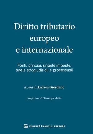 DIRITTO TRIBUTARIO EUROPEO E INTERNAZIONALE