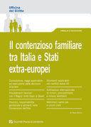 IL CONTENZIOSO FAMILIARE TRA ITALIA E STATI EXTRA-EUROPEI