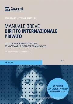 DIRITTO INTERNAZIONALE PRIVATO.