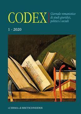 CODEX. VOL. 1, 2020