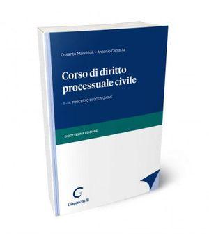CORSO DI DIRITTO PROCESSUALE CIVILE - II