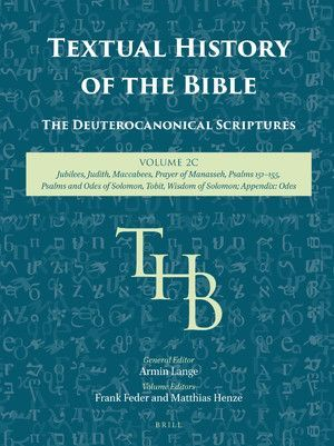 TEXTUAL HISTORY OF THE BIBLE VOL. 2C