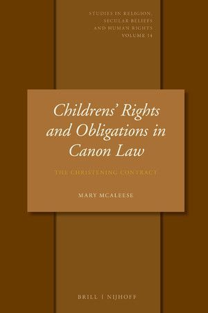CHILDRENS' RIGHTS AND OBLIGATIONS IN CANON LAW