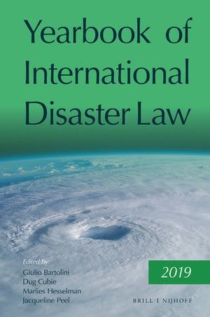 YEARBOOK OF INTERNATIONAL DISASTER LAW, VOL. 2 (2019)