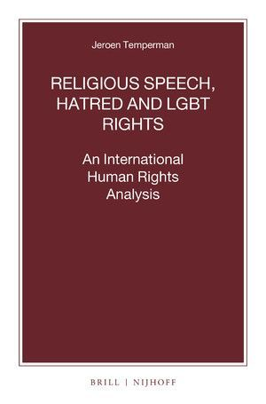 RELIGIOUS SPEECH, HATRED AND LGBT RIGHTS