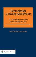 INTERNATIONAL LICENSING AGREEMENTS