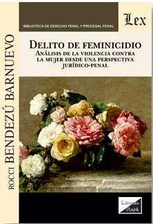 DELITO DE FEMINICIDIO