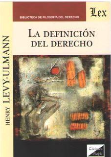 LA DEFINICION DE DERECHO