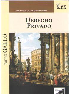 DERECHO PRIVADO 2018