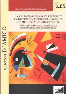 RESPONSABILIDAD EX RECEPTO