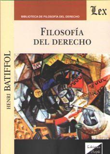 FILOSOFIA DEL DERCHO