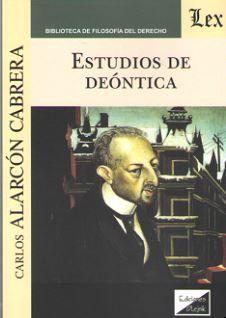 ESTUDIOS DE DEONTICA