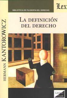 LA DEFINICION DEL DERECHO