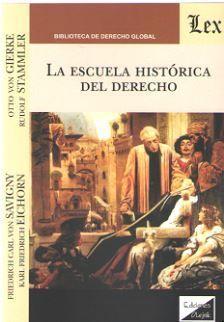 LA ESCUELA HISTORICA DEL DERECHO