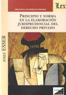 PRINCIPIO Y NORMA EN LA ELABORACION JURISPRUDENCIAL DEL DERECHO PRIVADO