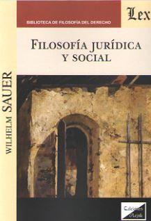 FILOSOFIA JURIDICA Y SOCIAL