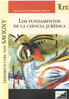 LOS FUNDAMENTOS DE LA CIENCIA JURIDICA