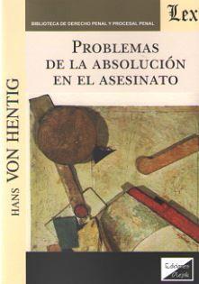 PROBLEMAS DE LA ABSOLUCION EN EL ASESINATO