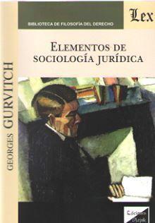 ELEMENTOS DE SOCIOLOGIA JURIDICA
