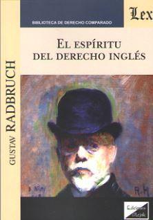 ESPIRITU DEL DERECHO INGLES, EL
