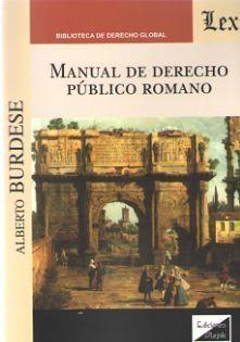 MANUAL DE DERECHO PUBLICO ROMANO