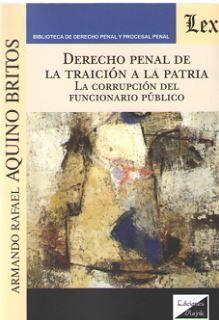 DERECHO PENAL DE LA TRAICION A LA PATRIA