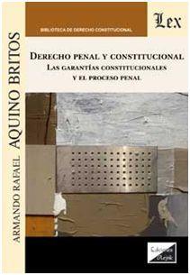 DERECHO PENAL Y CONSTITUCIONAL