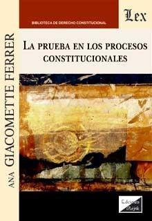 LA PRUEBA EN LOS PROCESOS CONSTITUCIONALES