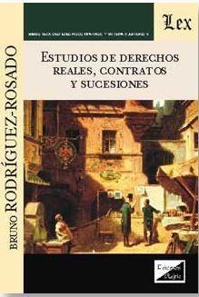 ESTUDIOS DE DERECHOS REALES, CONTRATOS Y SUCESIONES