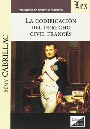 CODIFICACION DEL DERECHO CIVIL FRANCES