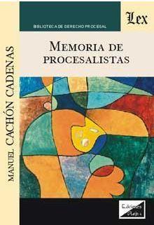 MEMORIA DE PROCESALISTAS
