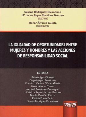 IGUALDAD DE OPORTUNIDADES ENTRE MUJERES Y HOMBRES